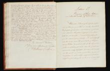 FORBES, SIR WILLIAM, OF PITSLIGO. MANUSCRIPT LETTERS OF ADVICE TO HIS CHILDREN, 5 VOLS, C.1800