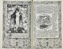 VALE PRESS--BLAKE, WILLIAM. POETICAL SKETCHES, 1899 (1 VOL.)