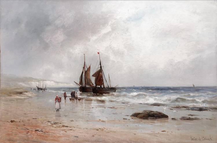 GUSTAVE DE BREANSKI, FL.1856-1898