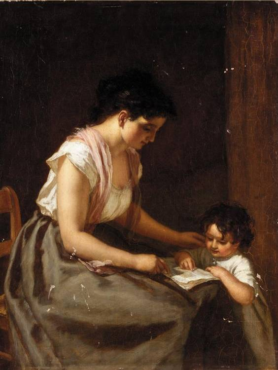 EUGÈNE FRANÇOIS DE BLOCK, BELGIAN 1812-1893