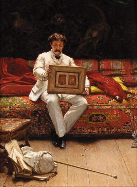 VICTOR JOSEPH CHAVET, FRENCH 1822-1906