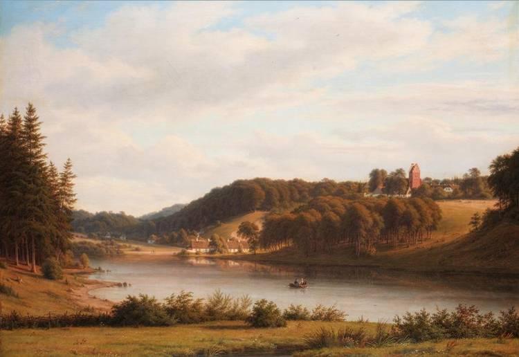 f - FREDERIK CHRISTIAN KIAERSKOU DANISH, 1805-1891