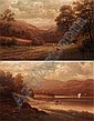 WILLIAM MELLOR, 1851-1931 IN THE WASHBURN VALLEY, YORKSHIRE; RYDAL LAKE FROM LOUGHRIGG SIDE,, William Mellor, Click for value
