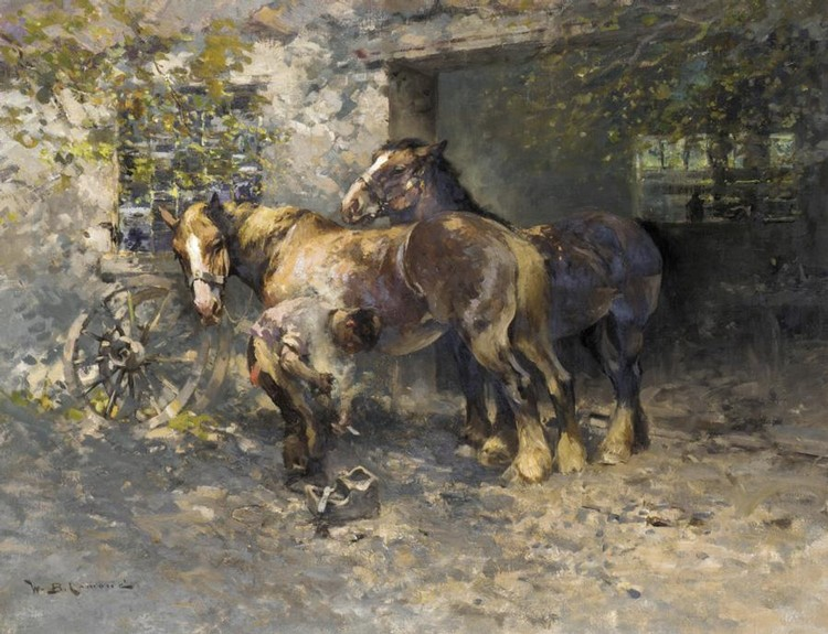 WILLIAM BRADLEY LAMOND, 1857-1924 THE SMIDDY