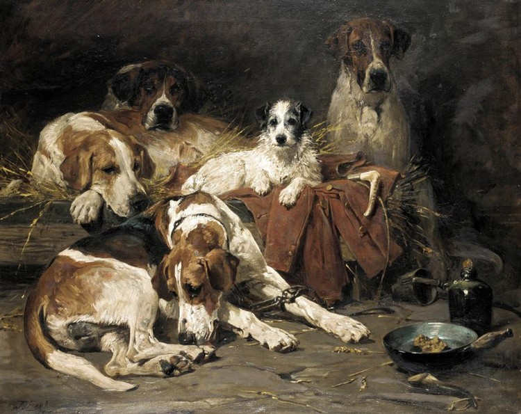 JOHN EMMS, 1843-1912 HIS LORDSHIP'S FAVOURITES