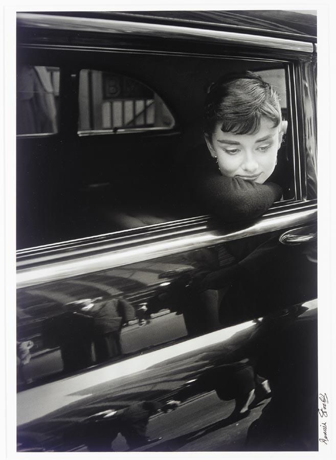 DENNIS STOCK, B. 1928 AUDREY HEPBURN DURING THE FILMING OF 'SABRINA', 1954, PRINTED LATER