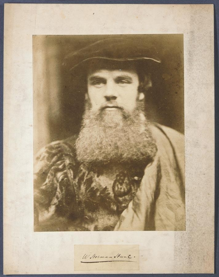DAVID WILKIE WYNFIELD, 1837-1887 WILLIAM HOLMAN HUNT (IN TUDOR COSTUME), 1860S
