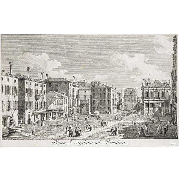 Visentini, Antonio , Urbis Venetiarum prospectus celebriores...aere expressi ab Antonio Visentini. Venezia: Giovanni Battista Pasquali, 1742