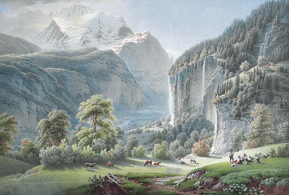c - GABRIEL LORY (GENANNT LORY FILS) 1763-1840
