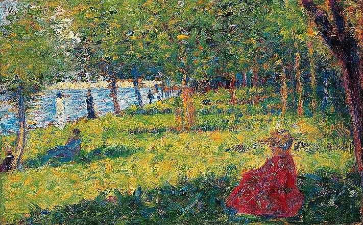 Georges Seurat Works on Sale at Auction & Biography