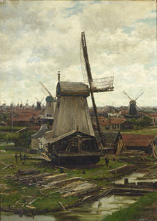 JAN HILLEBRAND WIJSMULLER DUTCH, 1855-1925