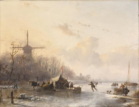 ANDREAS SCHELFHOUT DUTCH, THE HAGUE 1787 - 1870