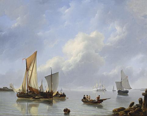 PETRUS JAN SCHOTEL DUTCH, 1808-1865