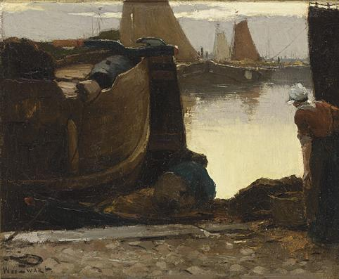 WILLEM DE ZWART DUTCH, 1862-1931