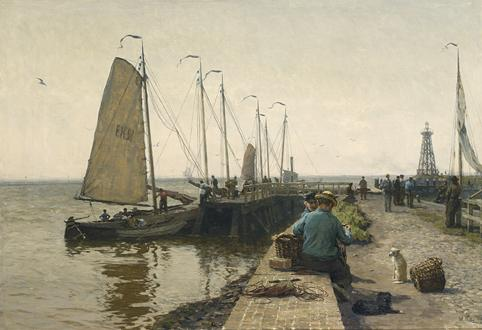 WILLEM BASTIAAN THOLEN DUTCH, 1860-1931