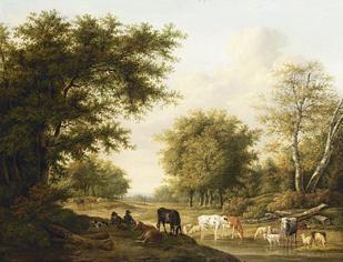 JAN BAPTIST KOBELL DUTCH, 1778 - 1814