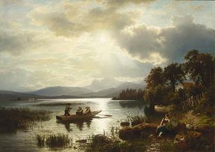 AUGUST WILHELM LEU GERMAN, 1819-1897