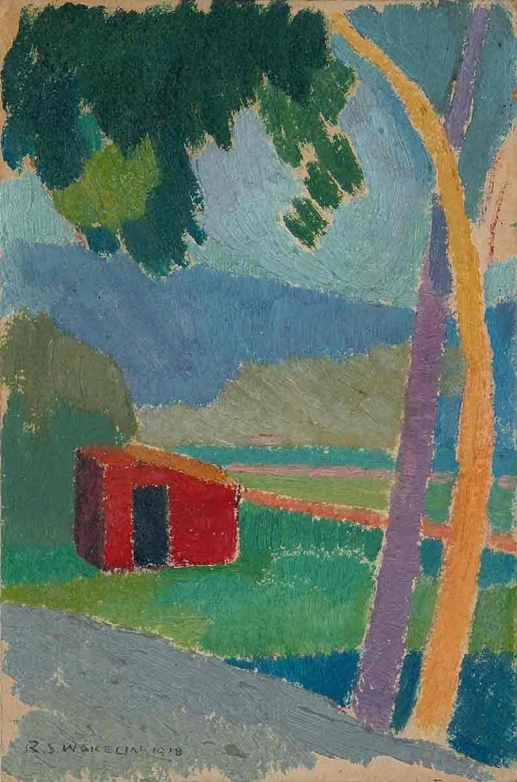 ROLAND WAKELIN AUSTRALIAN, 1887-1971
