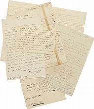 A GROUP OF MISCELLANEOUS CORRESPONDENCE AND DOCUMENTS BY OR CONCERNING PHILIP SCHUYLER, 1770–1803