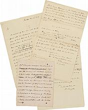 A GROUP OF AUTOGRAPH DOCUMENTS AND LETTERS BY PHILIP SCHUYLER RELATED TO PREPARATIONS FOR THE INVASION OF CANADA, 1775