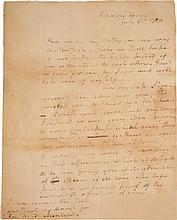 HAMILTON AL (SIGNATURE CLIPPED) TO ELIZABETH SCHUYLER 31 JULY 1780