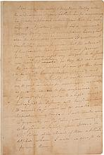 ALEXANDER HAMILTON, AUTOGRAPH LETTER TO ELIZABETH, EXPLAINING SHE CANNOT JOIN THE EXPEDITION TO YORKTOWN, VIRGINIA