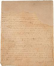 ALEXANDER HAMILTON, AUTOGRAPH LETTER FRAGMENT, [ALBANY, 13 AUGUST 1782], TO ROBERT MORRIS