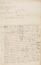ALEXANDER HAMILTON, AUTOGRAPH LEGAL DOCUMENT, (CONFISCATION ACT)