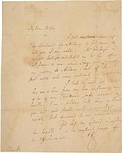 ALEXANDER HAMILTON, A BRIEF NOTE HOME, WRITTEN EARLY IN HIS TENURE AS SECRETARY OF THE TREASURY