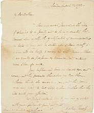 ANGELICA SCHUYLER CHURCH, A GROUP OF LETTERS WRITTEN TO HER BROTHER-IN-LAW ALEXANDER HAMILTON, 1789–1795