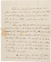 ANGELICA SCHUYLER CHURCH, A GROUP OF LETTERS WRITTEN TO HER SISTER ELIZABETH AND OTHER FAMILY MEMBERS, 1790–1812