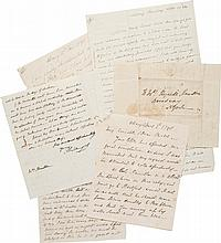 PHILIP SCHUYLER, A GROUP OF 34 AUTOGRAPH LETTERS SIGNED, 1790–1804, TO HIS DAUGHTER ELIZABETH SCHUYLER HAMILTON
