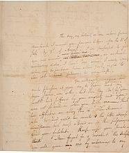 ALEXANDER HAMILTON, AUTOGRAPH LETTER TO ELIZABETH HAMILTON, SUGGESTING FOLK CURES FOR HER ILLNESS