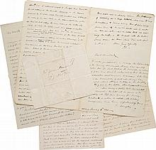 PHILIP SCHUYLER, A GROUP OF 17 LETTERS, 1793–1803, ADDRESSED TO HIS SON-IN-LAW, ALEXANDER HAMILTON