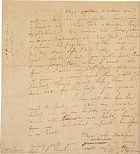 ALEXANDER HAMILTON, AUTOGRAPH LETTER SIGNED TO ANGELICA SCHUYLER CHURCH, SENDING AND REQUESTING FAMILY NEWS