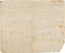 ALEXANDER HAMILTON, AUTOGRAPH LEGAL DOCUMENT SIGNED, 25 JUNE 1796