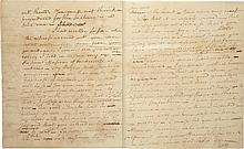 THE EARLIEST SURVIVING LOVE LETTER FROM ALEXANDER HAMILTON TO HIS FUTURE WIFE, 1780