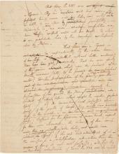 ALEXANDER HAMILTON, A PREVOUSLY UNRECORDED AUTOGRAPH DRAFT OF PACIFICUS ESSAY NO. VI