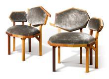 """MARTINO GAMPER   Two """"Rita"""" Chairs"""