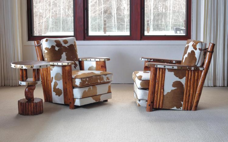 THOMAS MOLESWORTH | Pair of Club Chairs