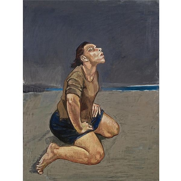 m - Paula Rego , b. 1935 Baying pastel on canvas