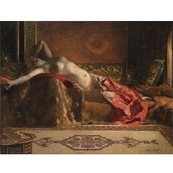 Jules-Joseph Benjamin-Constant , French 1845-1902 