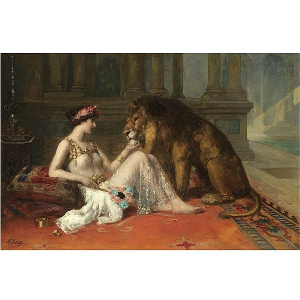 - Adolphe Weisz , French 1838-1900 