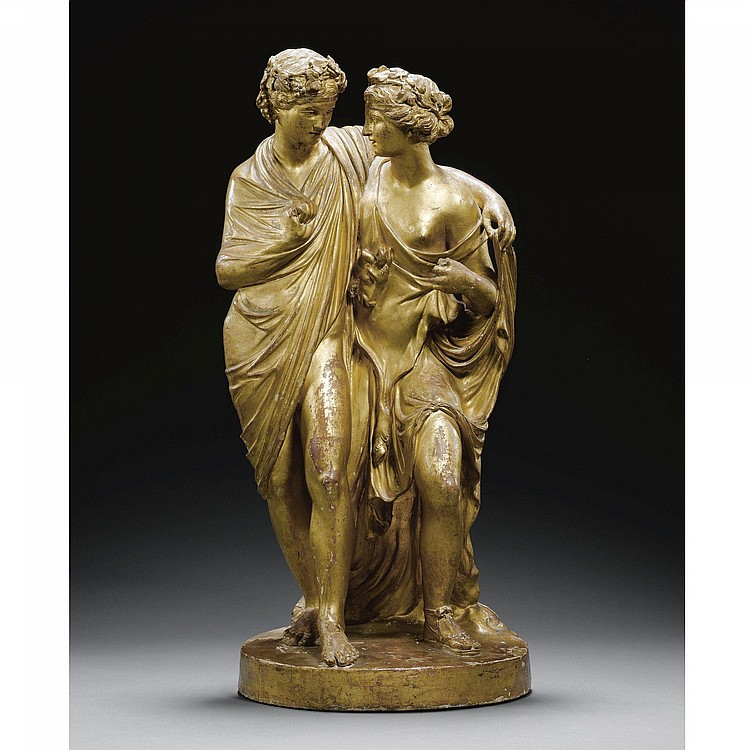 ATTRIBUTED TO BARTOLOMEO PINELLI (1781-1835), ITALIAN, ROME, CIRCA 1815 AFTER THE ANTIQUE