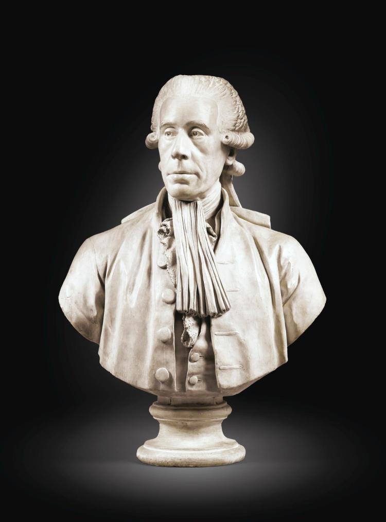 Louis Pierre Deseine, 1749 - 1822Portrait de Jean Sylvain Bailly (1736-1793), premier maire de Paris
