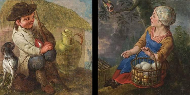 JAN ANTOON GAREMIJN BRUGES 1712 - 1799