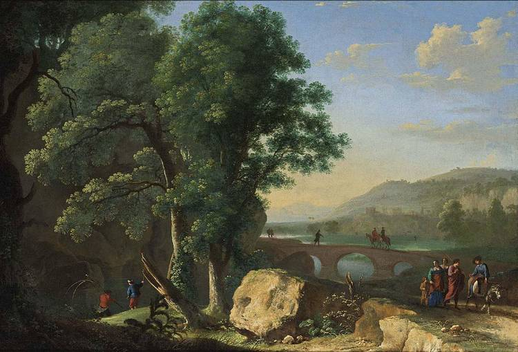 HERMAN VAN SWANEVELT WOERDEN (?) CIRCA 1600 - 1655 PARIS