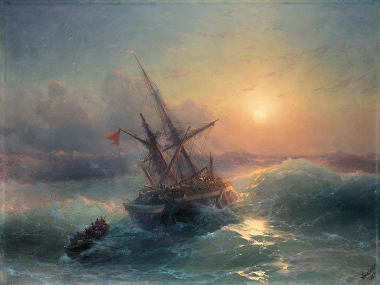 PROPERTY FROM A PRIVATE EUROPEAN COLLECTOR IVAN KONSTANTINOVICH AIVAZOVSKY, 1817-1900 THE