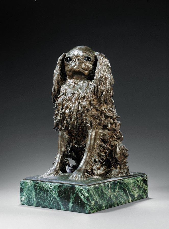d - ALEXANDER ZEITLIN, B. 1872 A SHITSU DOG