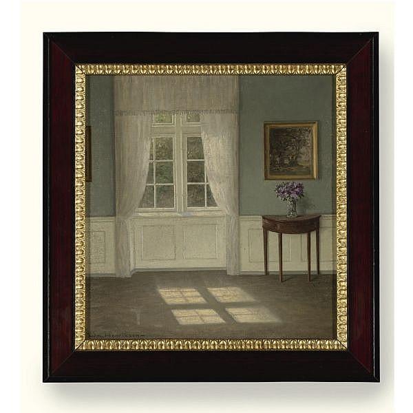 William Henriksen , 1880-1964 Spring Sunshine oil on canvas